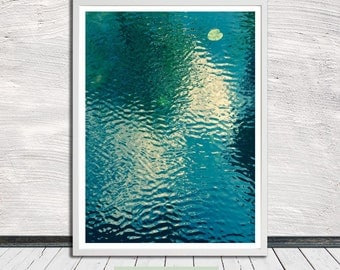 River man print, abstract printable wall art, poster, printable art, Instant Digital Download
