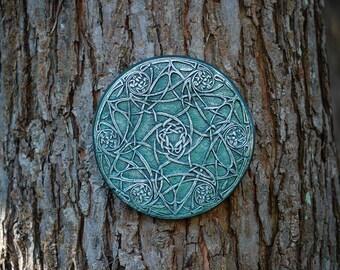 Celtic Wall Art wall art celtic odyssey celtic knot garden art gift irish