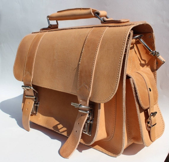 Leather messenger, camera bag, greek leather satchel, tan messenger