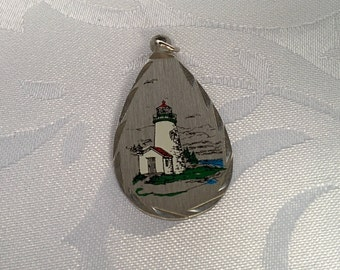 Lighthouse Pendant, Lighthouse, Lighthouse Jewelry, Lighthouse Charm