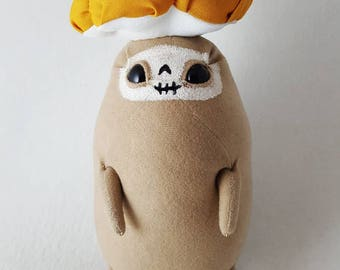Ruka the Mushroomfolk, OOAK plush