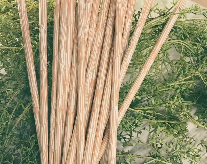 Woodgrain Paper Straws, Woodland Wedding Theme, Rustic, Camping, Adventure, Woodland Party, Faux Bois