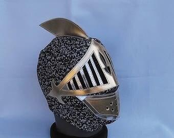 The Knight Ghost Wrestling Mask Lucha Libre Mask Halloween Marvel Comics luchador Mardi Gras holidays masks Lucha Vavoom Lucha Underground