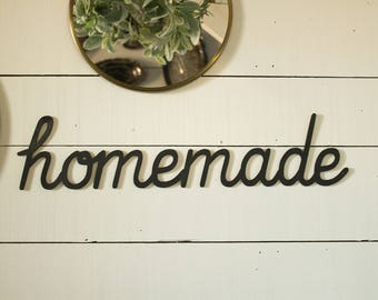 homemade Sign Gallery Wall Sign Farmhouse Gallery Wall Farmhouse Kitchen Sign