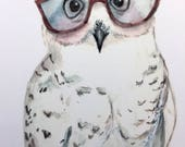 Reserved for Ali - Custom Owl
