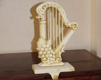 Vintage Harp Table Hook, Harp Table Holder, Table Hook