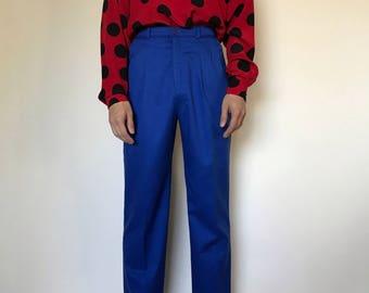 Like a Ladybug Printed Silk Blouse