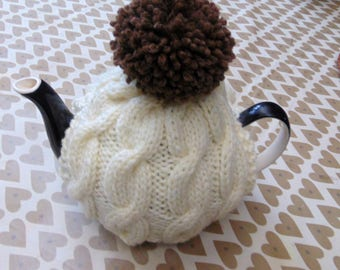 Pom Pom Tea Cosy 4-6 cup teapot