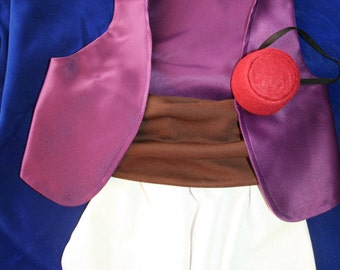 Aladdin Costume - 12 months to 3T - Infant and Toddler 4 Piece Outfit
