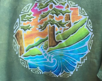 XXL Batik Shirt