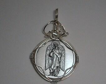 Archangel Saint Raphael Medal Pendant