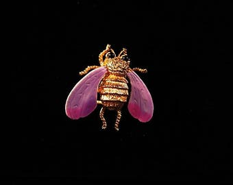 Vintage Bee Brooch/Pin