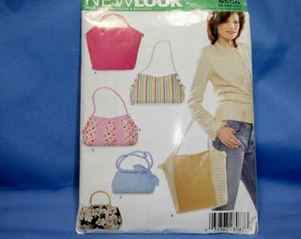 New Look 6500 Sewing Pattern, Purse, Tote