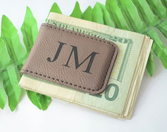Monogrammed Money Clip, Money Clip, Money Clip for Men, Personalized Gift, Father's Day Gift, Personalized Gift for Boyfriend, Gifts for Men