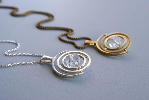 Gyroscope 5.5 - sterling silver