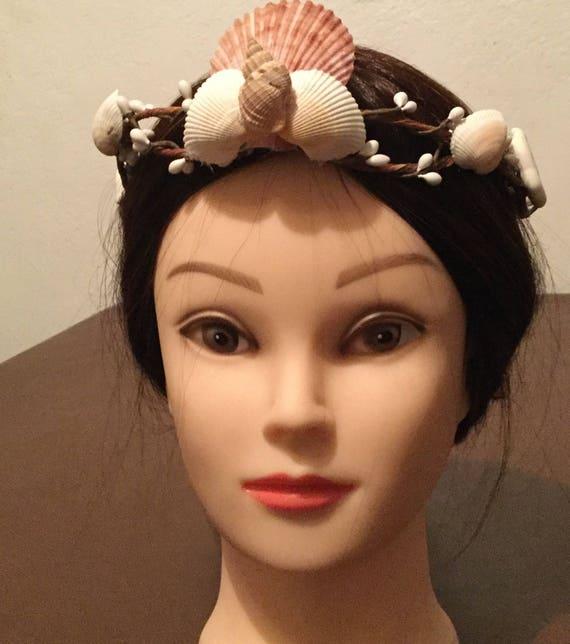 Mermaid Seashell Headband