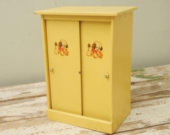 Doggie Doll Closet Yellow Box