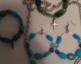 5 piece set jewelry
