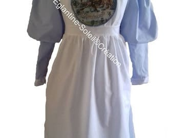 """RLM riding dress""""once upon a time Alice"""" custom"""