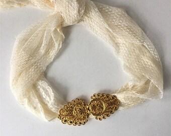 Dotty Smith Belt Buckle, Vintage Filigree Add A Belt, Interchangeable Belt Buckle, Women's Fashion Accessories