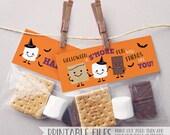 PRINTABLE Halloween Tags,...