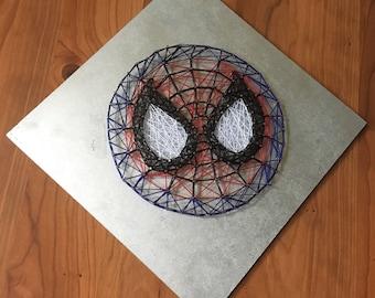 Spider-Man String Art Home Decor