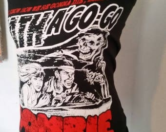 Rob Zombie Death A Go Go halter top