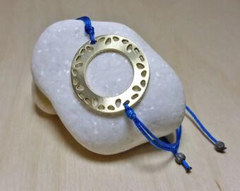 Circle Bracelet, Layering Bracelet, Everyday Bracelet, Circle Friendship Bracelet, Disc Bracelet, Layering Bracelet Women, Washer Bracelet
