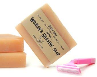 Womens Shave Soap For Her Shaving Soap for Womens Gift Christmas Stocking Stuffer Womens Shaving Soap Natural Soap