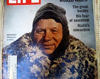 Life Magazine, December 4, 1970, Khrushchev Remembers WWII