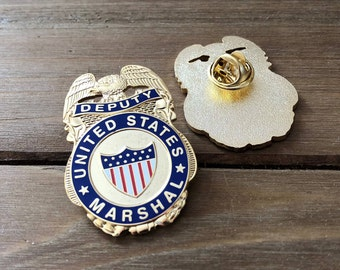 Deputy United States Marshal Mini Badge