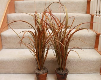 Silk Plant Arrangements (Set of 2) (F17-23)