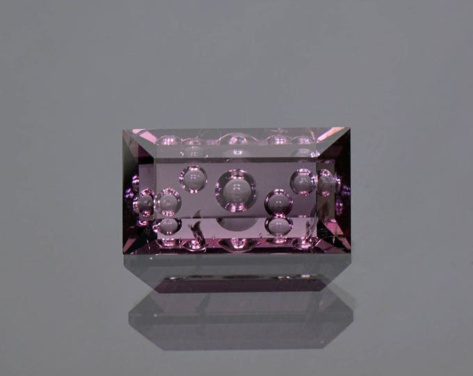 Beautiful Hand Carved Deep Grape Purple Tourmaline Gemstone 8.00 cts.