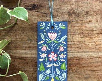 Hand painted bookmark 10