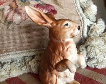 French Country Lefton Bunny Rabbit Figurine