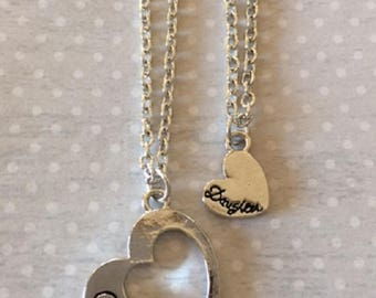 Mother Daughter - Mother Daughter Necklace - Mother Daughter Gift - Mothers Day Gift - Mother Necklace - Daughter Jewelry - Daughter Gift