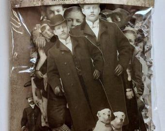 Tim Holtz idea-ology Paper Dolls 107 Pieces of Clipped Vintage Portraits