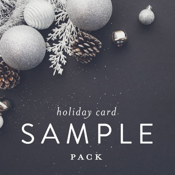Holiday Card Sample Pack