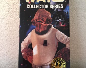 Star Wars 12 inch Admiral Ackbar from the Kenner Collector Series - sealed in box NOS NIB