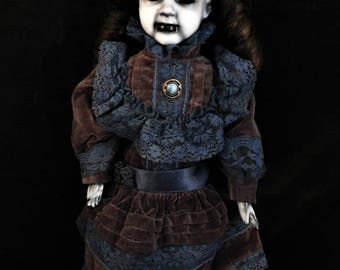 "Maiba 19"" OOAK Porcelain Horror Doll"
