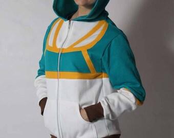 Princess Zelda Breath of the Wild BoTW Cosplay Costume Hoodie Jacket