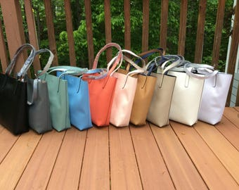 Machine Monogrammed Totes