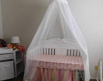 Custom Order Listing Nursery Crib Canopy