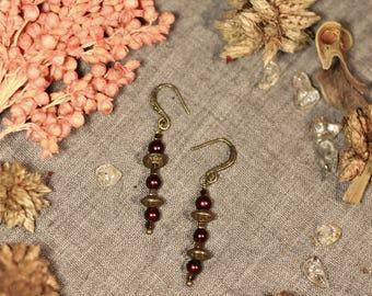 """Boucles d'oreilles """"Perlito"""" par Argothe Couture"""