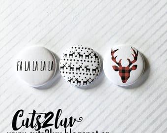 """3 buttons 1 """"Falalala"""