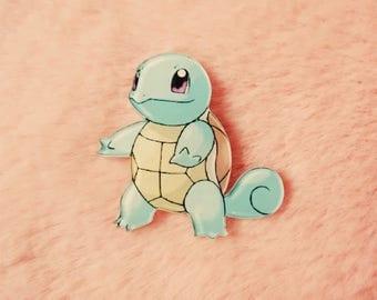Pokemon 90s Squirtle Nintendo Gameboy Ash Ketchum Pin Badge