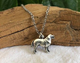 Golden Retriever Necklace - Retriever Dog Breed Jewelry - Gift for Dog Lover