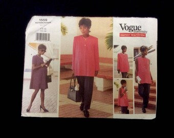 Vogue Pattern 1559 Maternity Career Wardrobe Size 6 8 10 UNCUT Dress Skirt Pants Top Jacket
