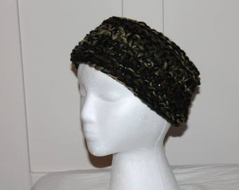 Camo Knitted Head/Neck Cowl