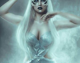 Dragon lady fantasy bra costume khaleesi daenerys dress magic wicca pagan